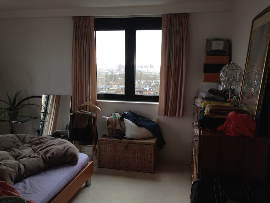 BEFORE:  Bedroom by Bhavin Taylor Design