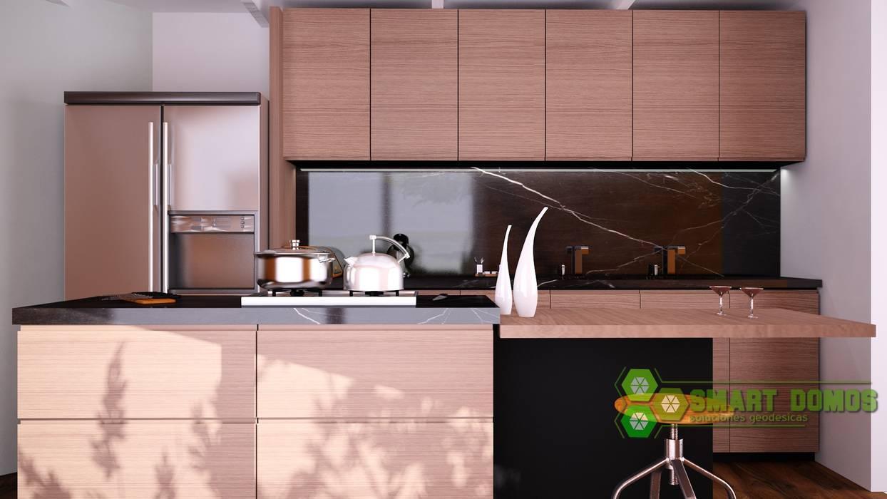 smart domos Cocinas de estilo moderno