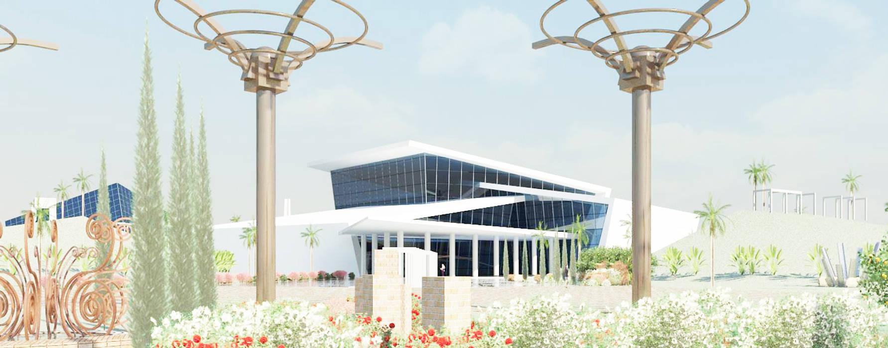 Aule universitarie Studio la Piramide Architettura e Urbanistica Studio moderno Metallo