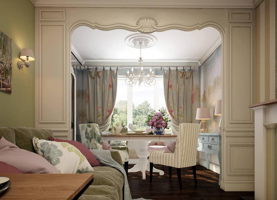 Salas de estilo clásico de Юлия Максимук Clásico