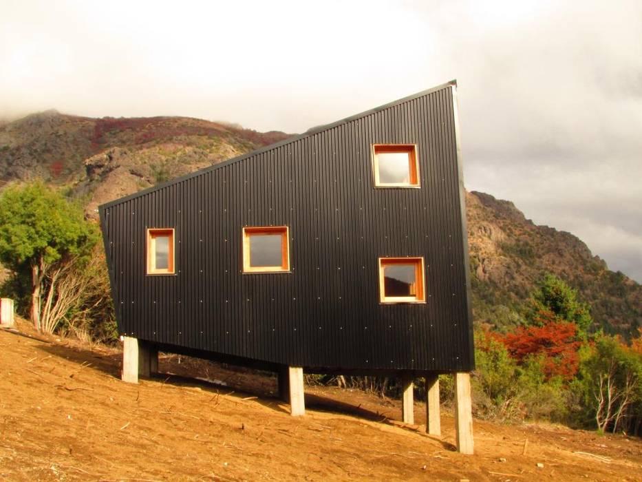 Alpina Mellizas - Estudio forma: Casas prefabricadas de estilo  por forma,Moderno