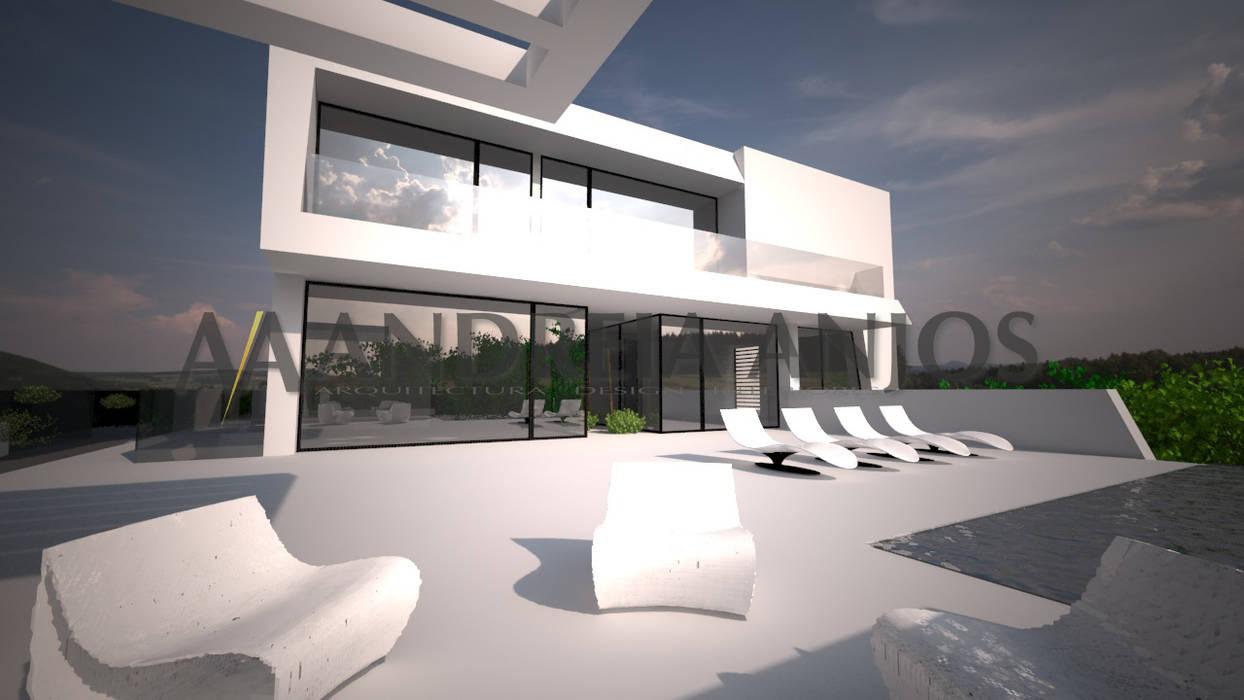 Fincas de estilo  por Andreia Anjos - Arquitectura, Design e Construção, Moderno