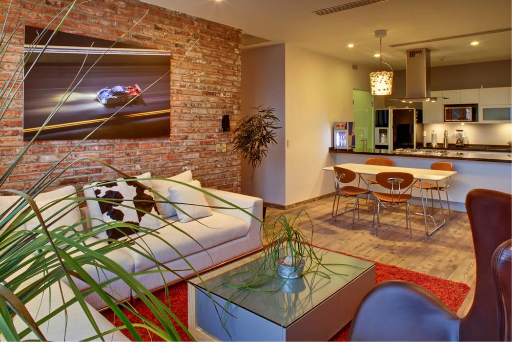 RIMA Arquitectura Ruang Keluarga Modern