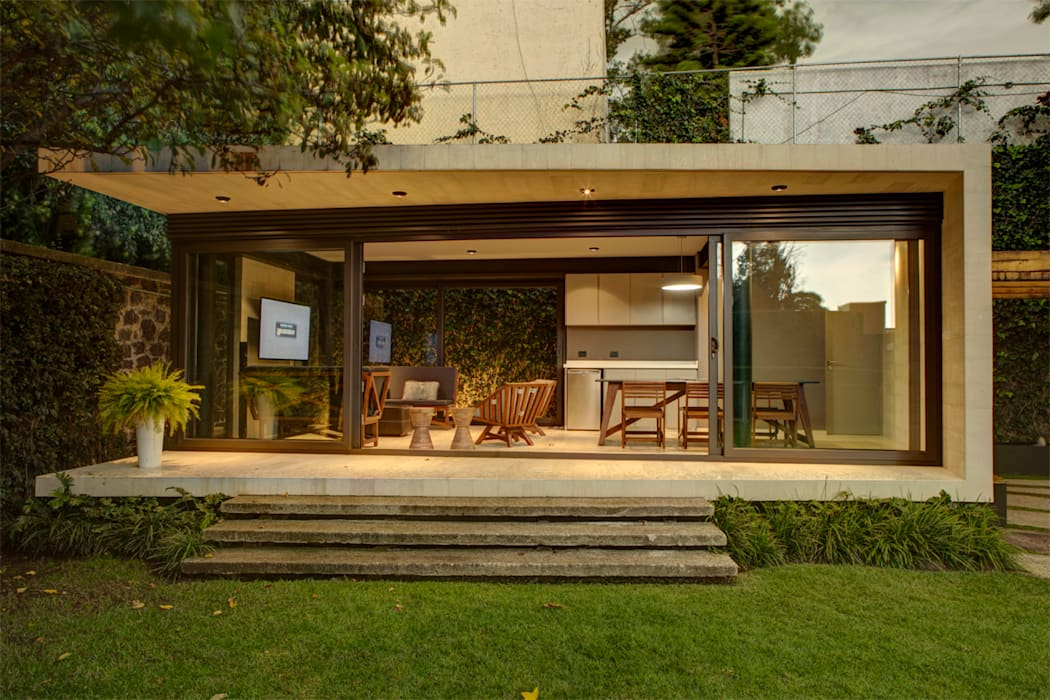 Casa Lava: Casas de estilo moderno por RIMA Arquitectura