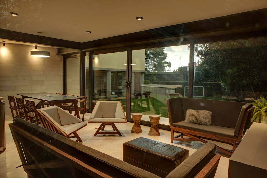 Modern living room by RIMA Arquitectura Modern