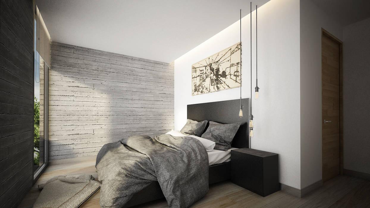 Cuartos de estilo moderno de Sulkin Askenazi Moderno