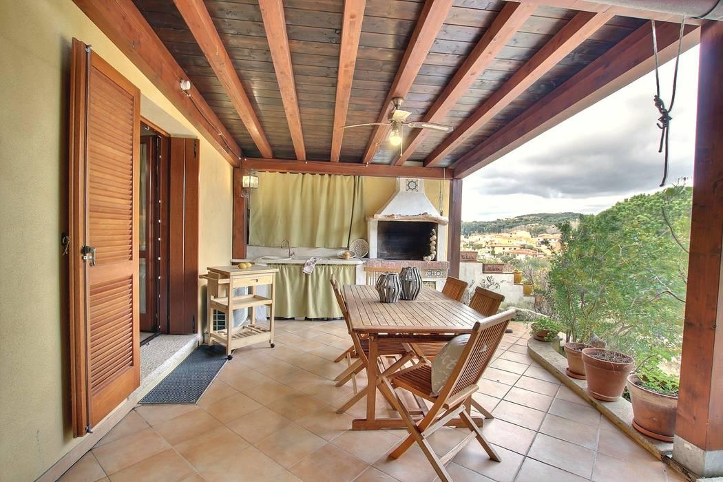 Mediterraner Balkon, Veranda & Terrasse von homify Mediterran