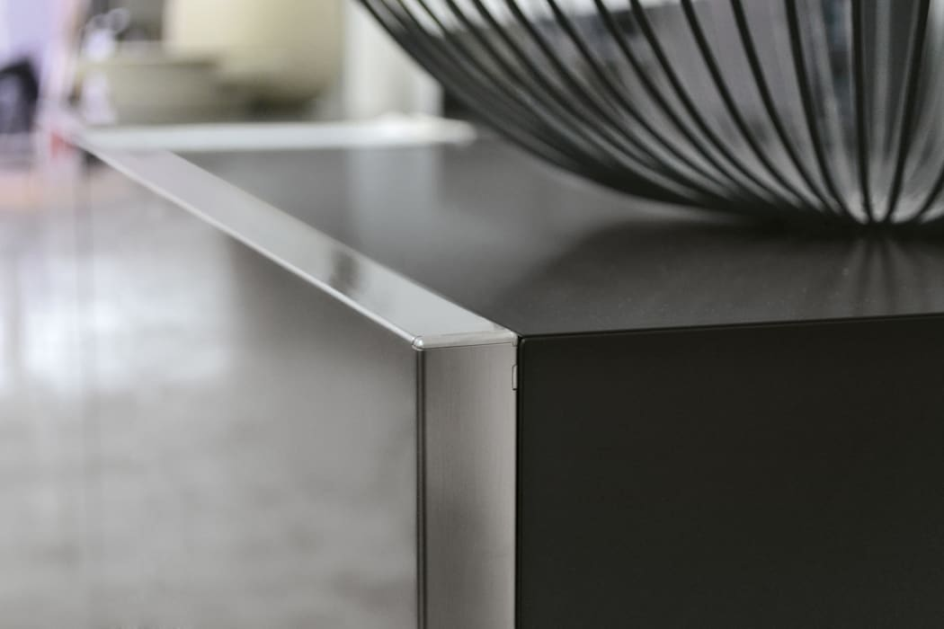 BandIt Design Corridor, hallway & stairs Drawers & shelves Iron/Steel Metallic/Silver