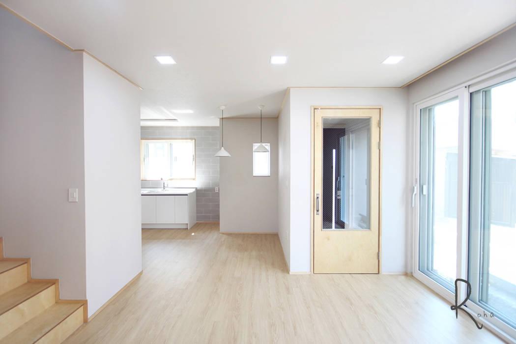 로하디자인 Salon minimaliste Beige
