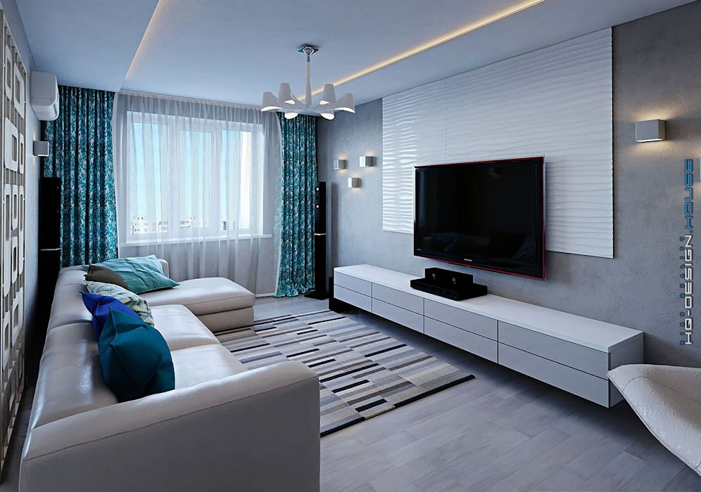 Modern living room by hq-design Modern