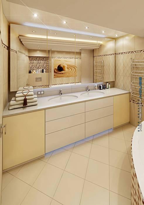 Baños de estilo moderno de hq-design Moderno