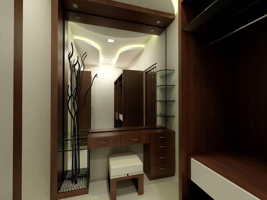 Mr.Javed:  Dressing room by Shadab Anwari & Associates.,Asian
