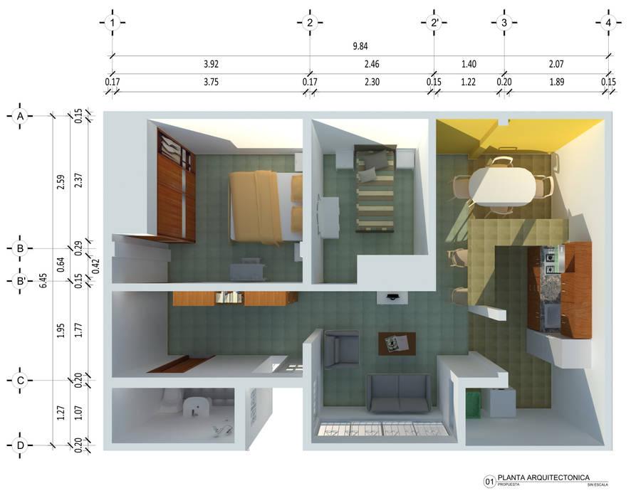 Ingenieros y Arquitectos Continentes Rumah Modern