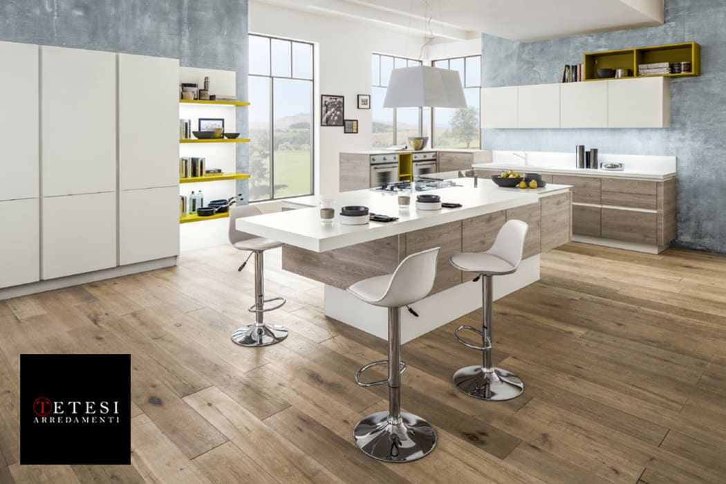 Cucina moderna Arrex: Cucina in stile in stile Moderno di Tetesi Arredamenti - Art Innovation