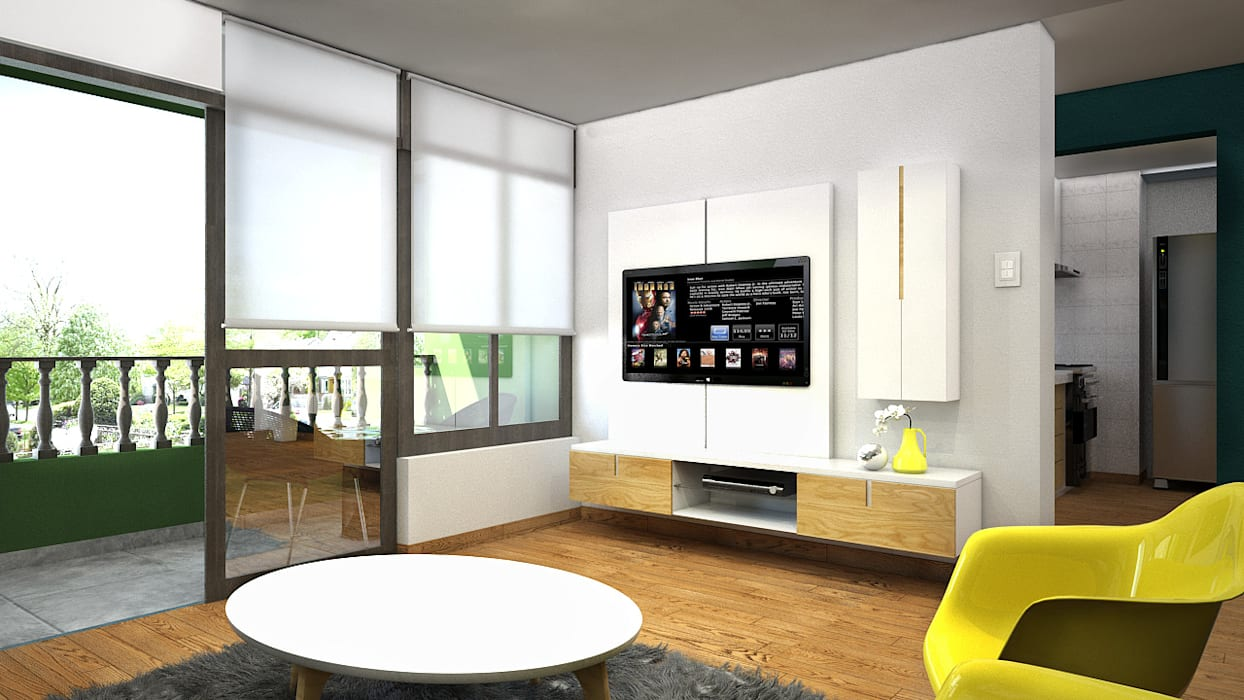 Kuro Design Studio Living room
