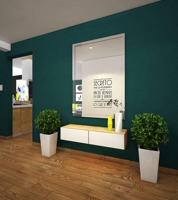 CERRO AZUL de Kuro Design Studio Escandinavo