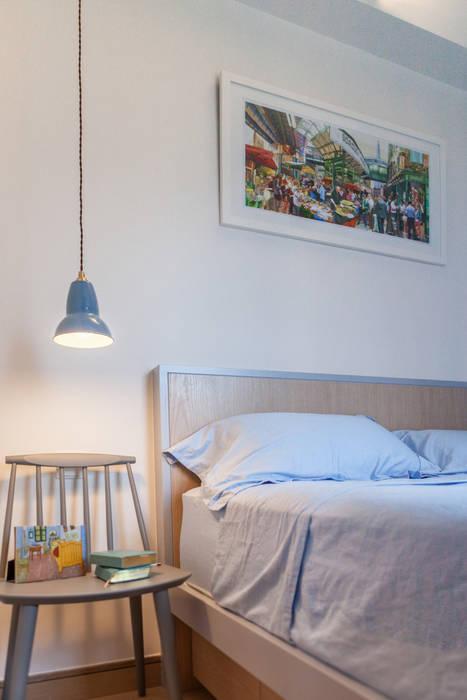 Bedroom by arctitudesign, Minimalist