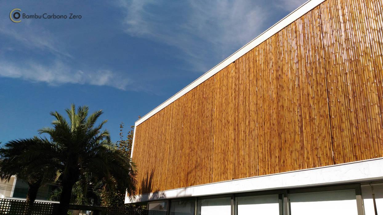 Casas de estilo minimalista de BAMBU CARBONO ZERO Minimalista Bambú Verde