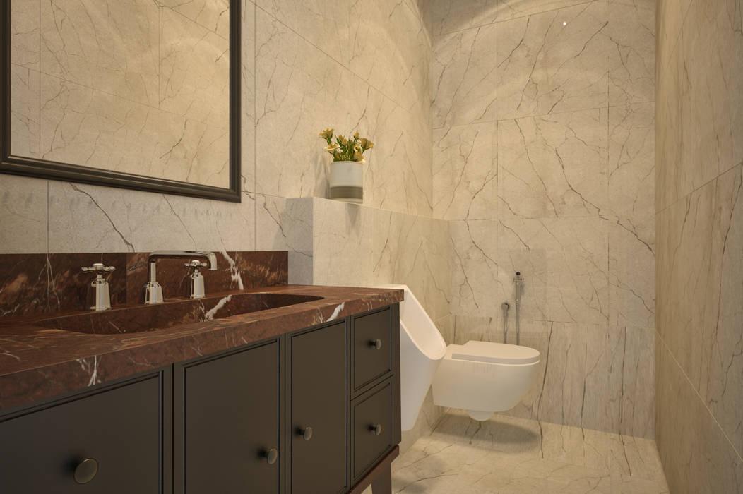 Предметы сантехники для интерьера ванной комнаты Ванная комната в стиле минимализм от U-Style design studio Минимализм
