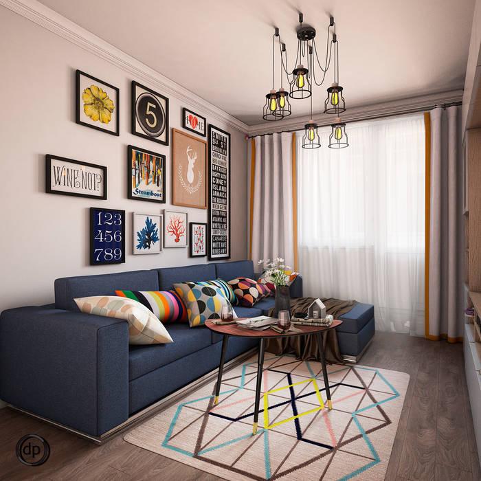 Гостиная: Гостиная в . Автор – dp_interior