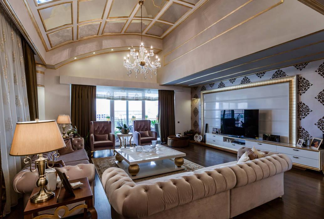 Klassische Wohnzimmer von Mimoza Mimarlık Klassisch
