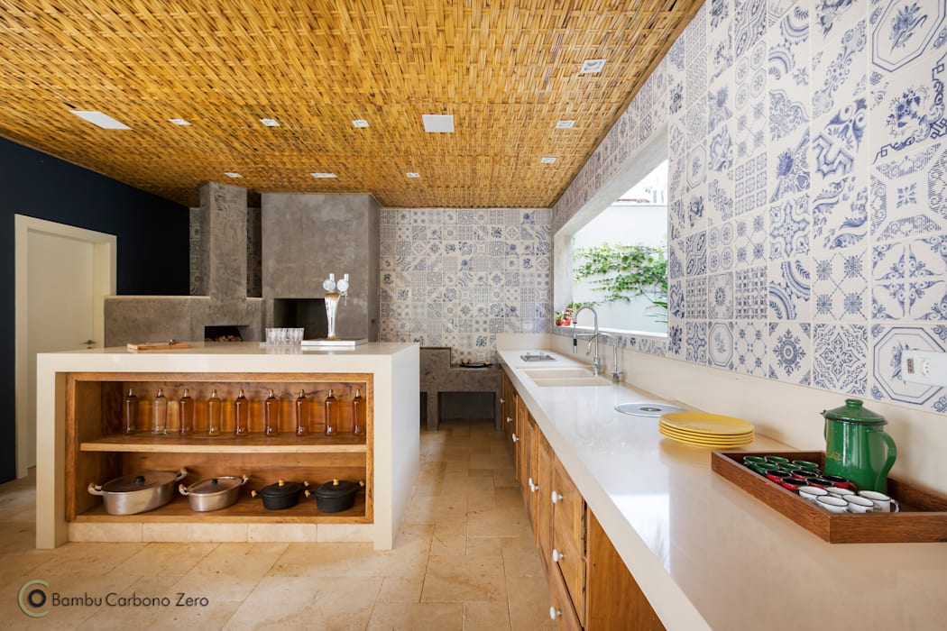 Keuken door BAMBU CARBONO ZERO