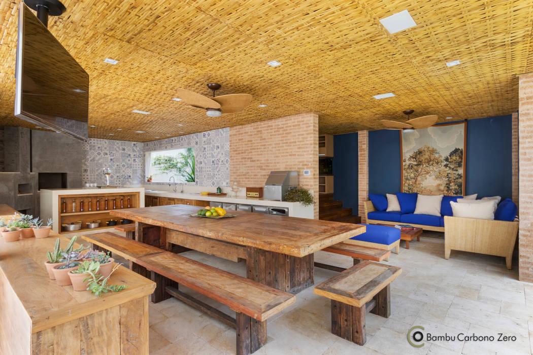 ラスティックデザインの キッチン の BAMBU CARBONO ZERO ラスティック 竹 緑