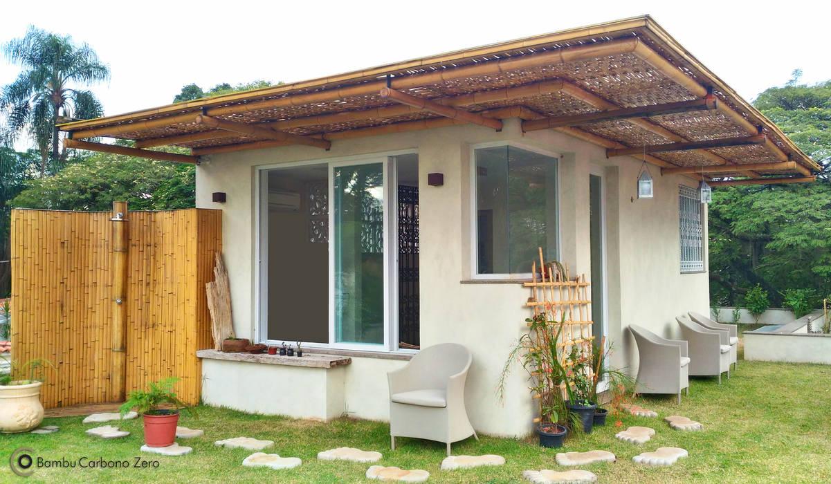 Spa de estilo rural de BAMBU CARBONO ZERO Rural Bambú Verde