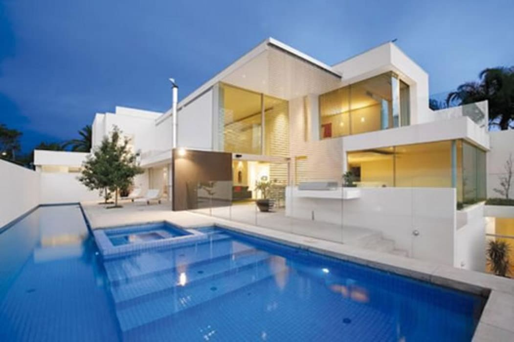 Vista 3D: Casas de estilo  por INVERSIONES NACSE S.A.S.,