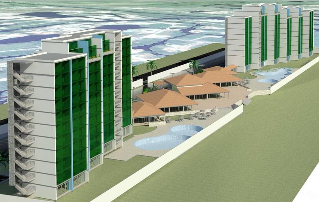 Desarrollo Turístico de playa: Estudios y despachos de estilo  por INVERSIONES NACSE S.A.S.