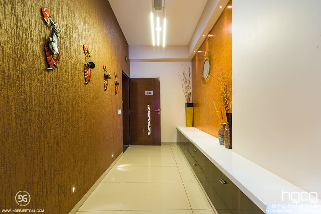 Welcoming Foyer at Iscon Platinum HGCG Architects