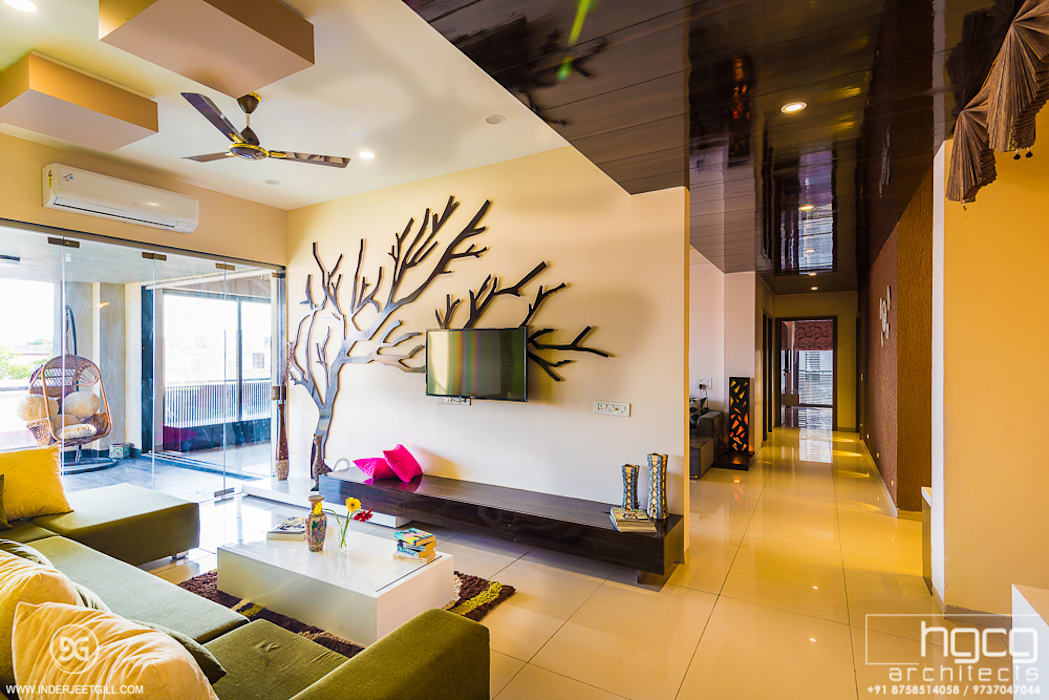 Family Living Room HGCG Architects