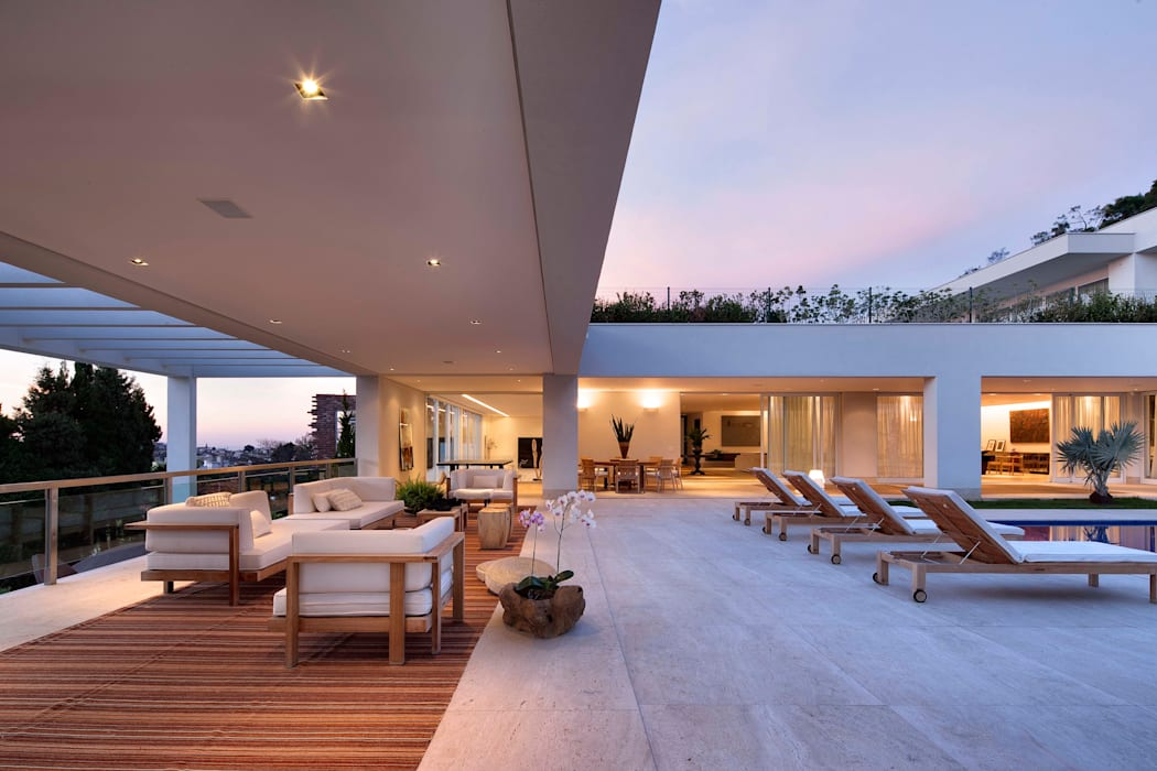 Terrace by Lanza Arquitetos, Modern