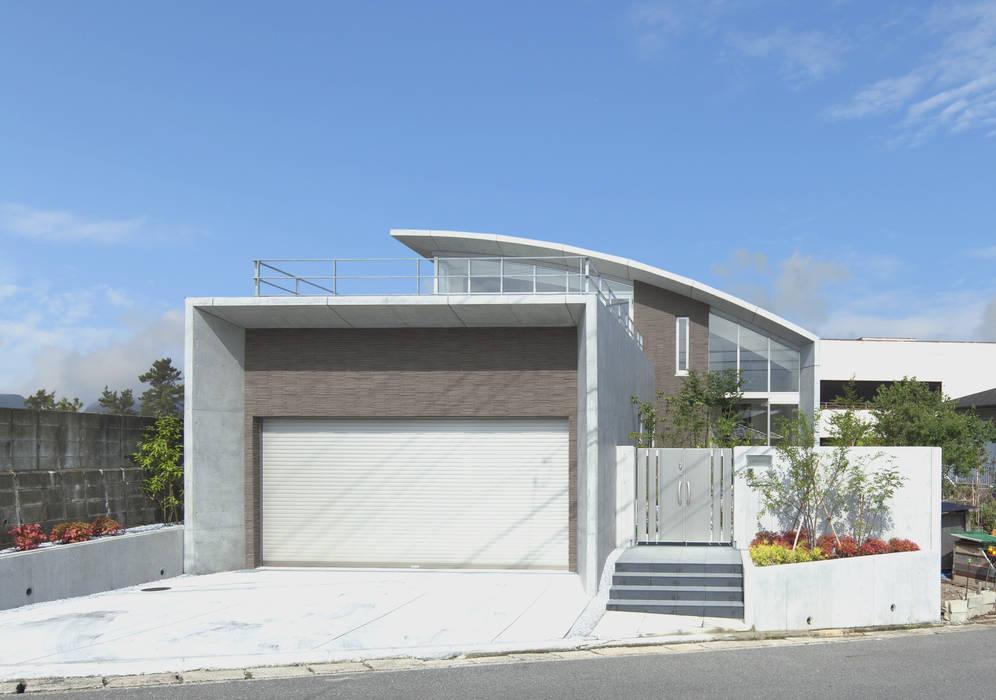 宇美の家 株式会社 深田環境建築デザイン 一級建築事務所 モダンな 家