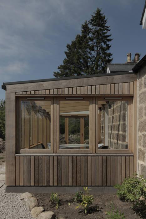 Sunroom Jardines de invierno de estilo moderno de ABN7 Architects Moderno