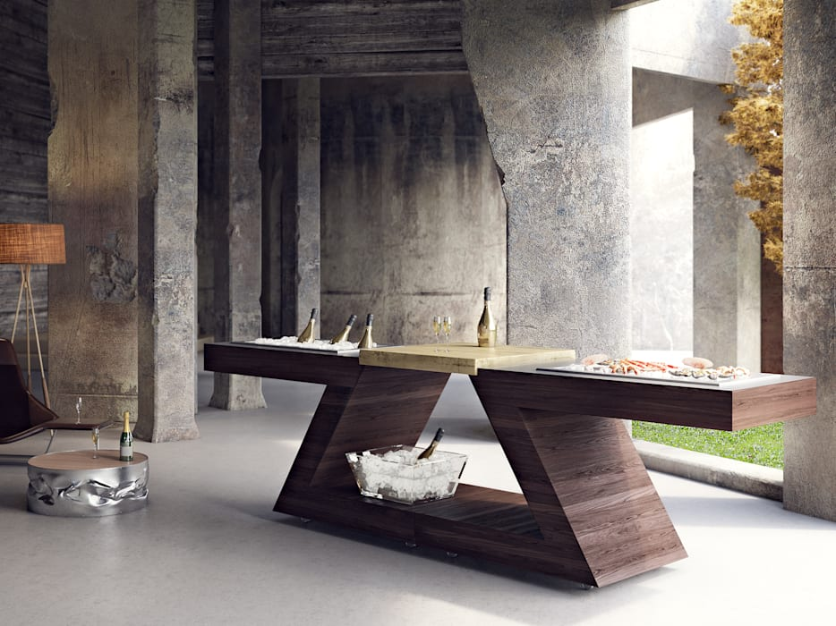 Pool by ZED EXPERIENCE - indoor & outdoor kitchen