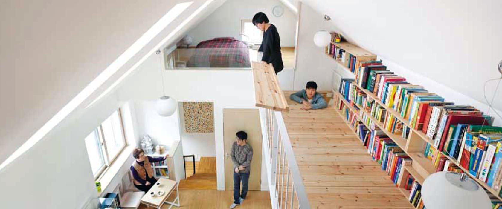 Living room by 비온후풍경 ㅣ J2H Architects