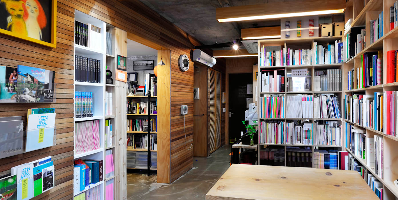 Study/office by 비온후풍경 ㅣ J2H Architects