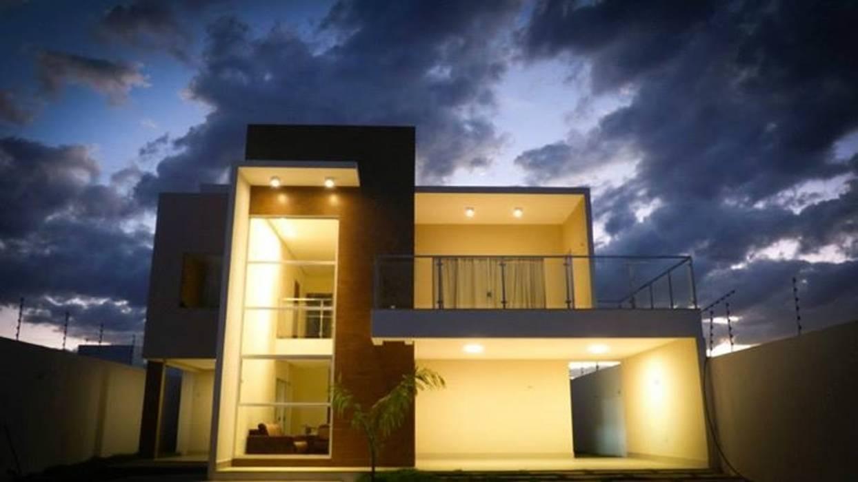 Casa AD Casas modernas por Renato Medeiros Arquitetura Moderno Concreto