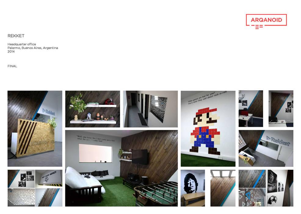 CASE STUDY • REKKET: Oficinas y Tiendas de estilo  por Estudio Cebra
