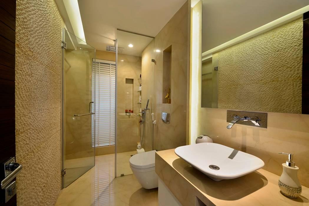 Salle de bain minimaliste par homify Minimaliste Marbre