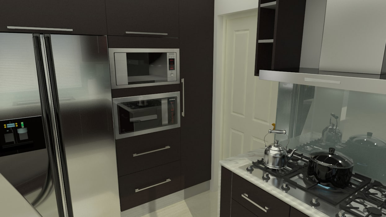 homify 現代廚房設計點子、靈感&圖片 實木 Brown