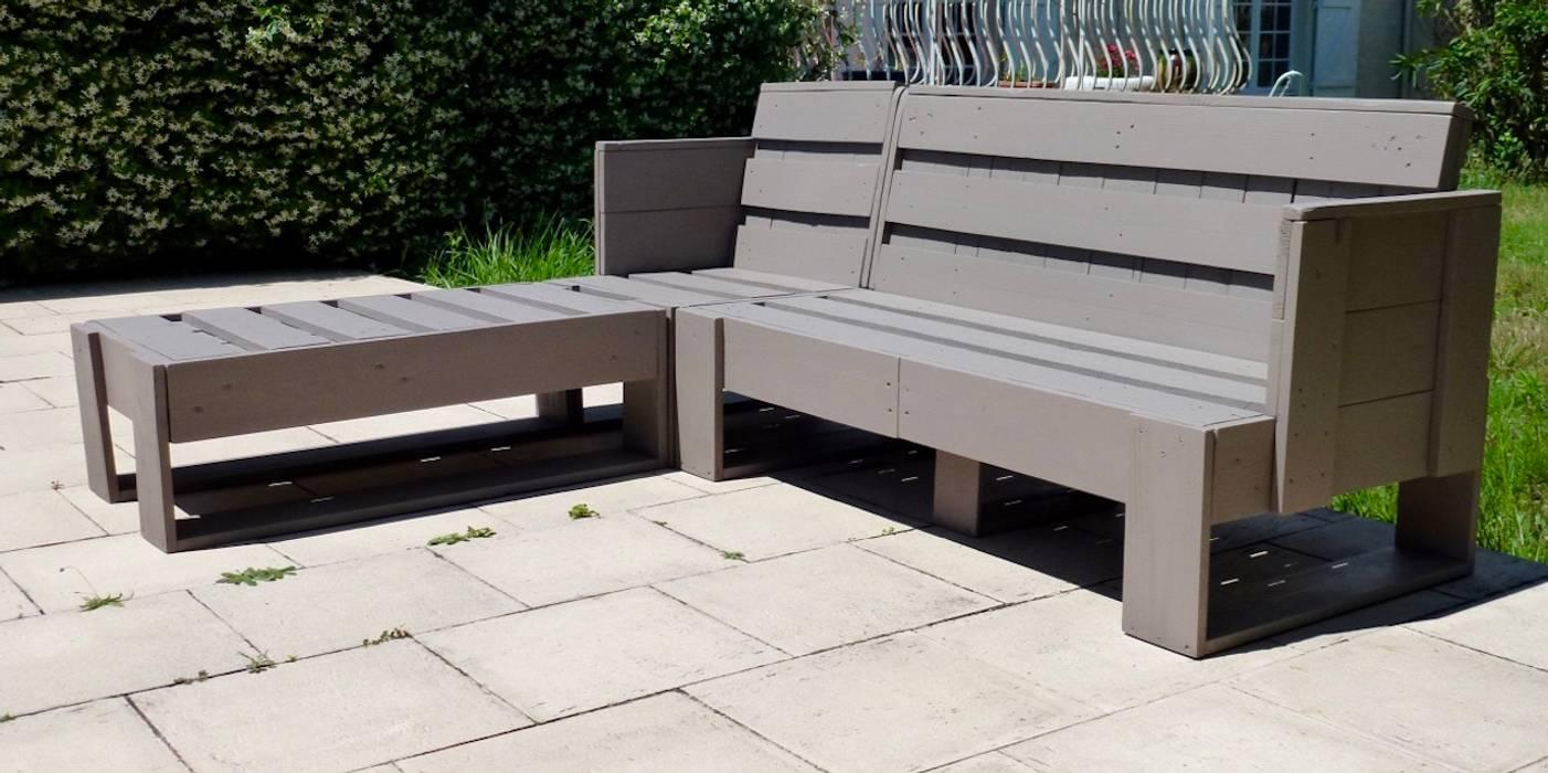 Salon de jardin en palettes modulable: de style par 2nd ...
