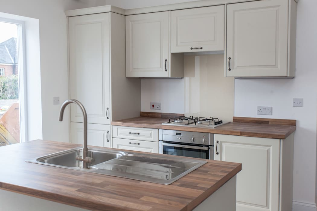 Cuisine de style  par Hampshire Design Consultancy Ltd., Rural