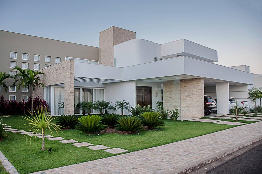 Modern Evler A/ZERO Arquitetura Modern