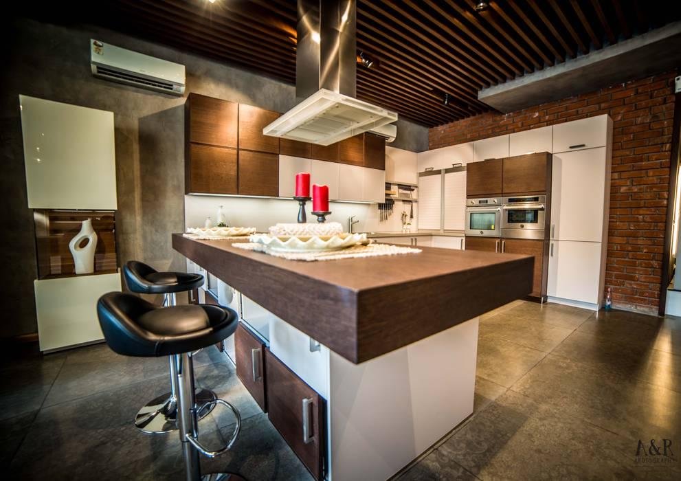 Dapur Gaya Rustic Oleh Hacker Kitchen Rustic