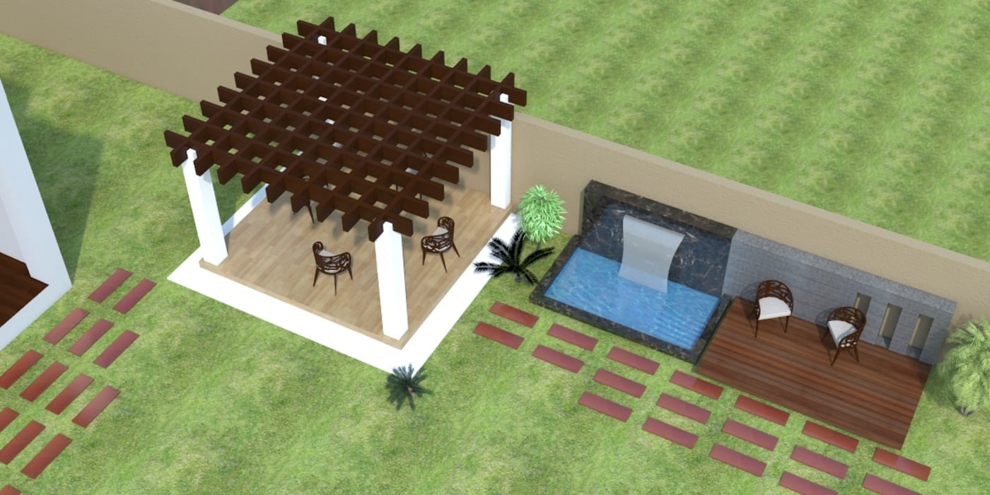 open sitting A Mans Creation Modern houses