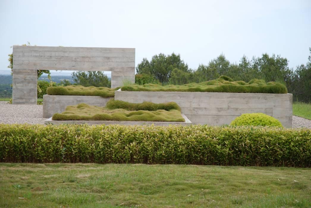 Structures en béton: Jardin de style  par JARDIN GECKO