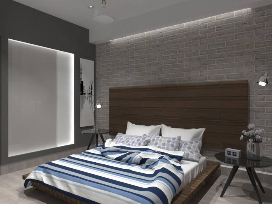 RECAMARA PPAL: Recámaras de estilo ecléctico por AurEa 34 -Arquitectura tu Espacio-