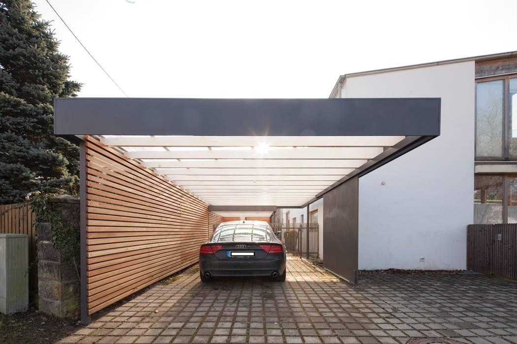 Carport Architekt Armin Hägele Moderne Garagen & Schuppen
